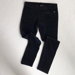 Juicy couture black velour leggings